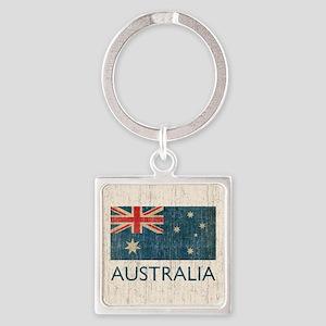 VintageAustralia Square Keychain