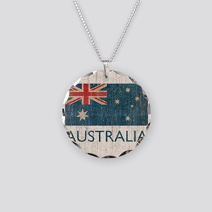 VintageAustralia Necklace Circle Charm