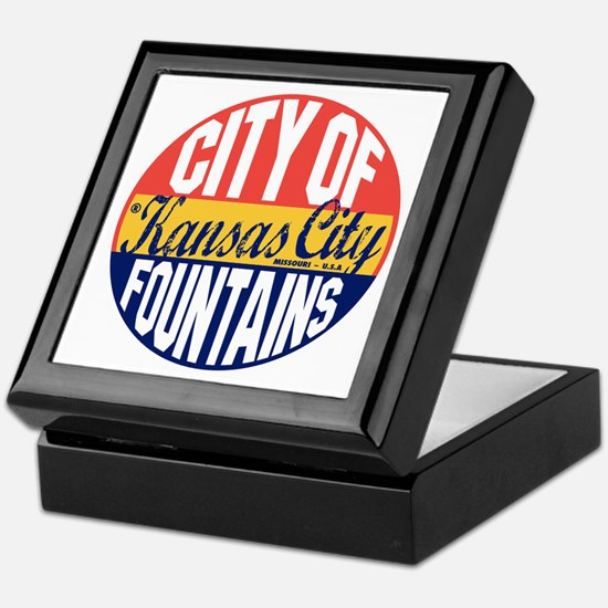 Kansas City Vintage Keepsake Box