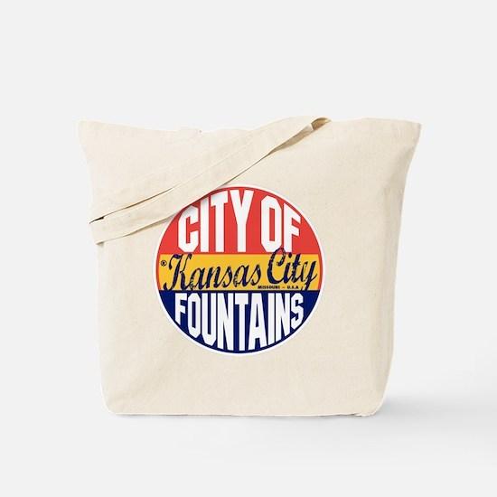 Kansas City Vintage Tote Bag