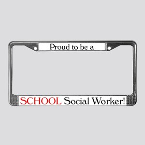 Proud School SW License Plate Frame