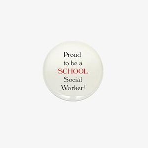 Proud School SW Mini Button