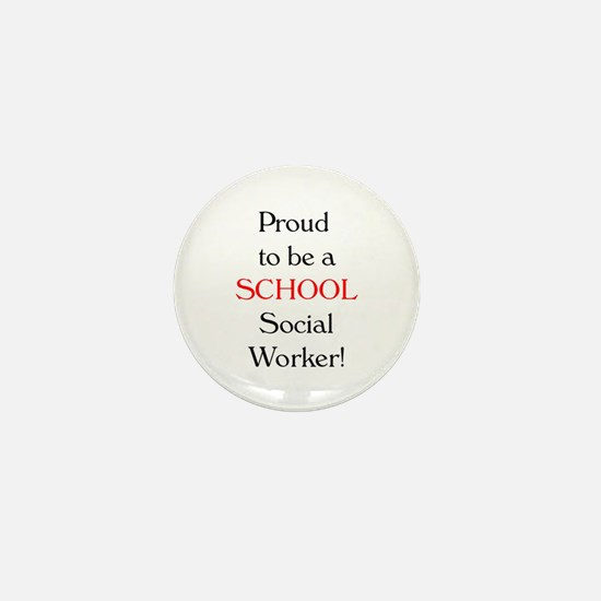 Proud School SW Mini Button