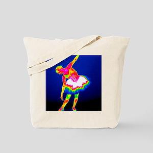 Ballerina, thermogram Tote Bag