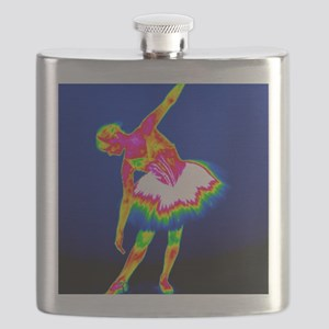 Ballerina, thermogram Flask