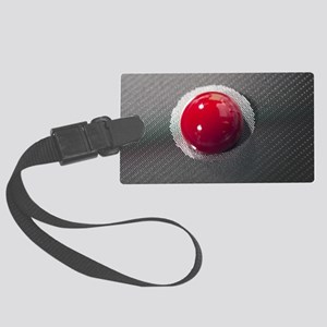 Blood on a cancer-detecting lab- Large Luggage Tag
