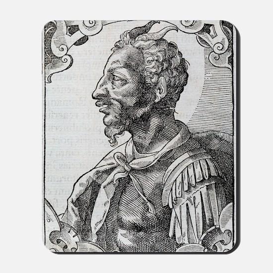 Attila, Emperor of the Huns Mousepad