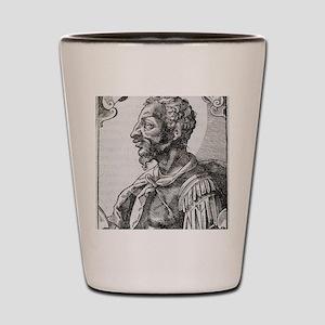 Attila, Emperor of the Huns Shot Glass