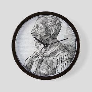 Attila, Emperor of the Huns Wall Clock