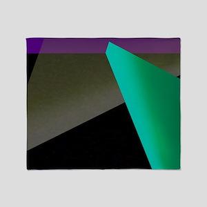 Geometric Spotlight Throw Blanket