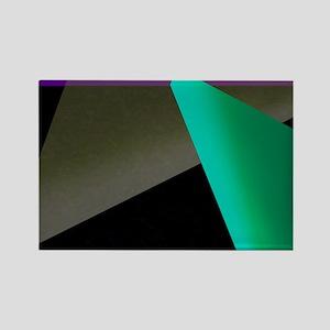 Geometric Spotlight Rectangle Magnet