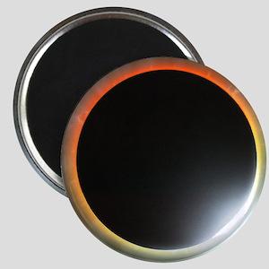 Annular solar eclipse, artwork Magnet