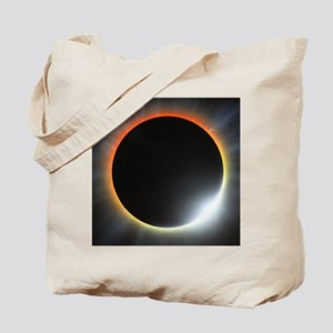 Annular solar eclipse, artwork Tote Bag