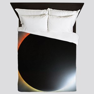 Annular solar eclipse, artwork Queen Duvet