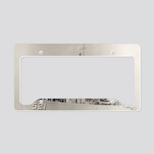 uss assurance large framed pr License Plate Holder