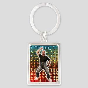 Disco Bob lifesize Portrait Keychain