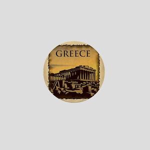 Acropolis Of Athens Mini Button