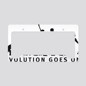 evolution skiing License Plate Holder