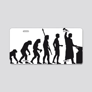 evolution blacksmith Aluminum License Plate