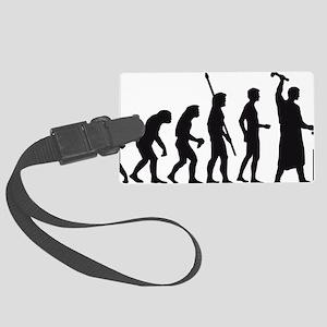 evolution blacksmith Large Luggage Tag