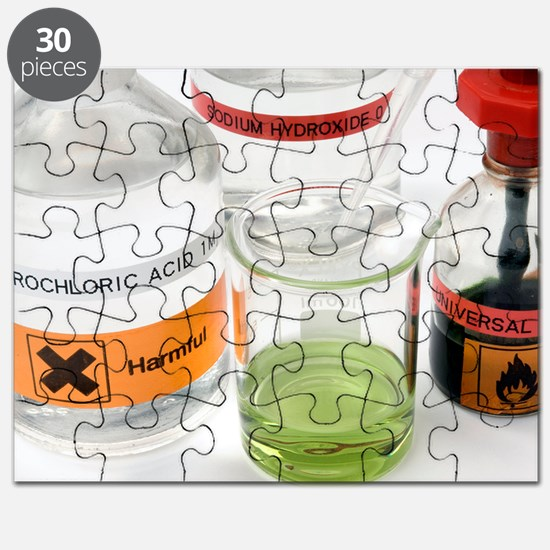 Adding acid to an alkali Puzzle