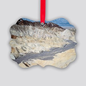 Badland erosion Picture Ornament