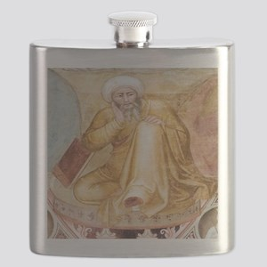 Averroes, Islamic physician Flask