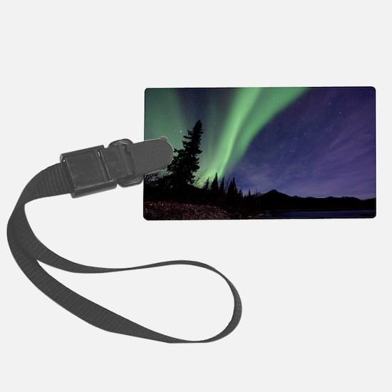 Aurora borealis Luggage Tag