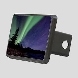 Aurora borealis Rectangular Hitch Cover