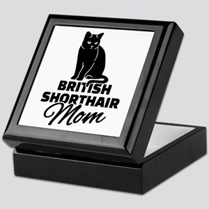 BRITISH SHORTHAIR Stickers Clothing A Keepsake Box