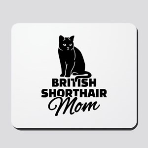 BRITISH SHORTHAIR Stickers Clothing Acce Mousepad