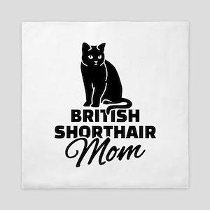 BRITISH SHORTHAIR Stickers Clothing Ac Queen Duvet