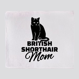 BRITISH SHORTHAIR Stickers Clothing Throw Blanket
