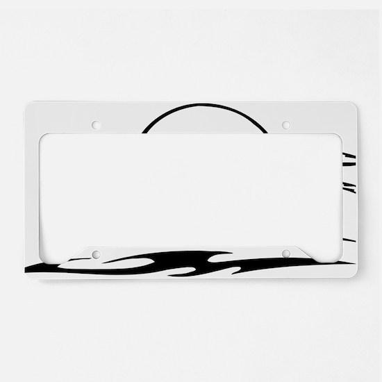 WolfAA040 License Plate Holder