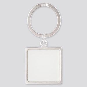 Stop! Square Keychain