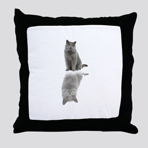 BRITISH SHORTHAIR Stickers Clothing A Throw Pillow