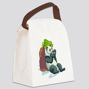 PandaAA23 Canvas Lunch Bag