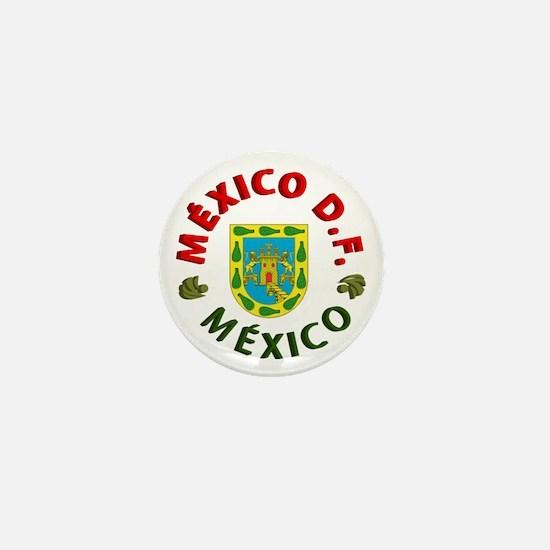 México D.F. Mini Button