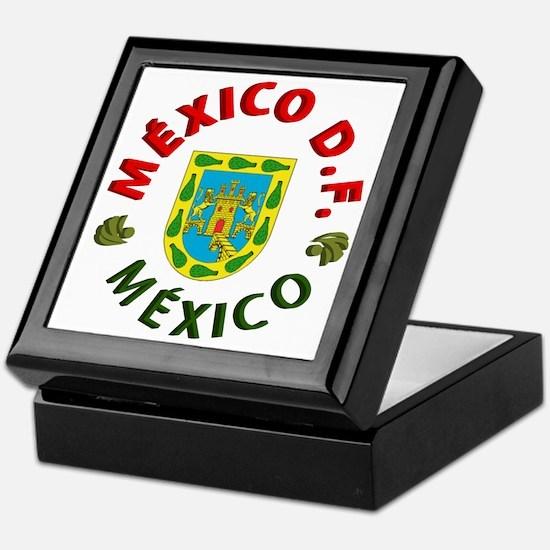 México D.F. Keepsake Box