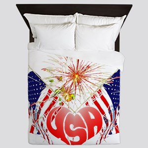 Celebrate USA Queen Duvet