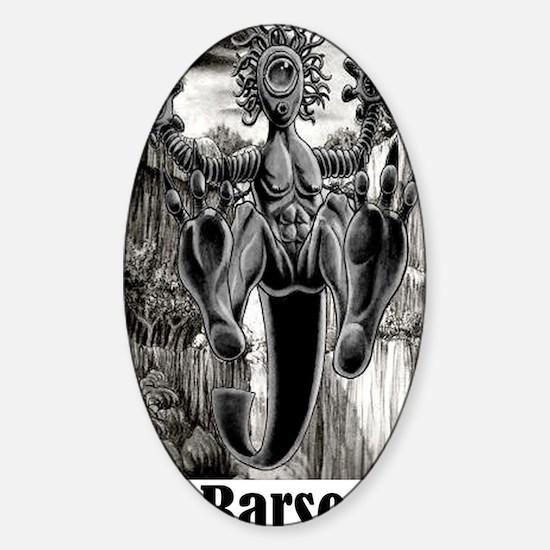 John Carter sequel Sticker (Oval)