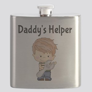 Daddys Helper with Wrench Flask