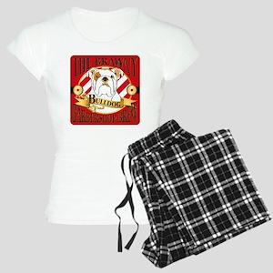 The Brawny Bulldog Barbersh Women's Light Pajamas
