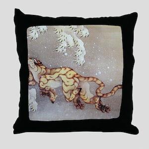 Hokusai Throw Pillow