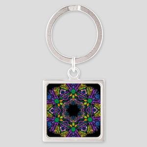 kaleido art purple Keychains