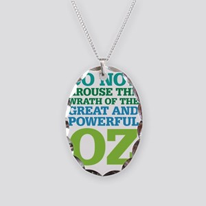 Wrath of Oz Necklace Oval Charm