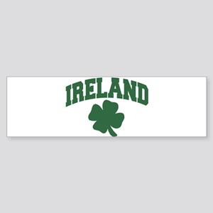 Ireland Shamrock Bumper Sticker
