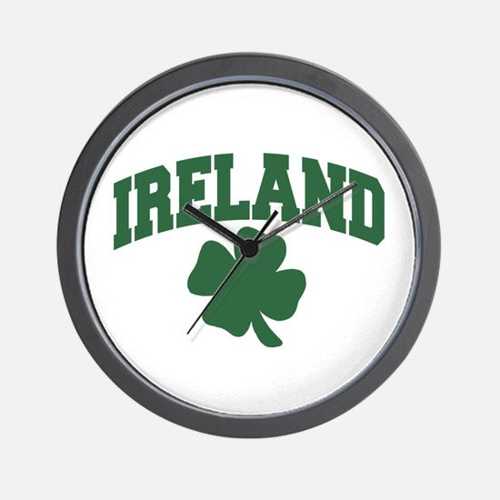 Ireland Shamrock Wall Clock