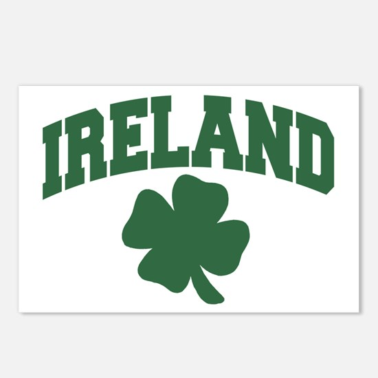 Ireland Shamrock Postcards (Package of 8)