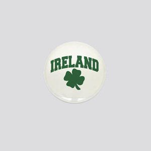Ireland Shamrock Mini Button